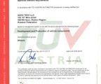 Сертификат TUV.