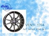 Новые параметры у модели диска Venti 1704