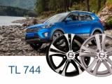 Диски Течлайн 17 дюймов TL744 для Hyundai Creta